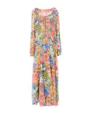 Длинное платье FEMME by MICHELE ROSSI. Цвет: светло-зеленый