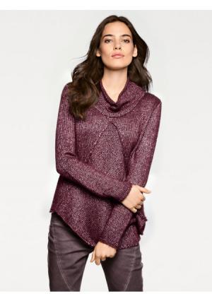 Пуловер LINEA TESINI by Heine. Цвет: ягодный