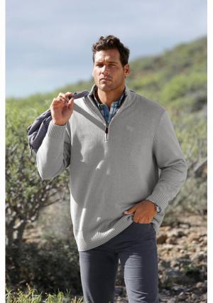 Пуловер MANS WORLD MAN'S. Цвет: изумрудный, темно-синий