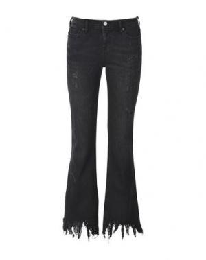 Джинсовые брюки 8. Цвет: черный