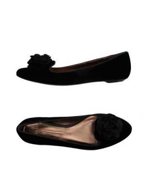 Мокасины AERIN. Цвет: черный