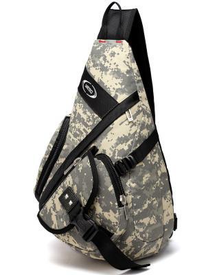 Рюкзак однолямочный Yeso (Outmaster). Цвет: серый