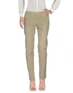 Повседневные брюки 0/ZERO CONSTRUCTION. Цвет: бежевый