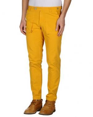 Повседневные брюки MOLO ELEVEN. Цвет: охра