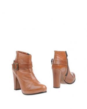 Полусапоги и высокие ботинки FABIO RUSCONI. Цвет: коричневый