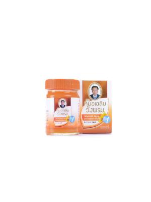 Фитобальзам для тела оранжевый от воспаления суставов, TM WangProm, 50 гр. WangProm. Цвет: оранжевый