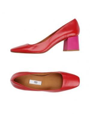 Туфли MIISTA. Цвет: красный