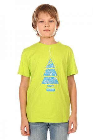 Футболка детская  Pine Green Lime Picture Organic. Цвет: зеленый