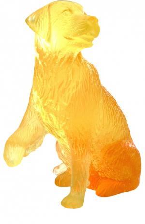 Статуэтка Chien Golden Retriver Daum. Цвет: бесцветный