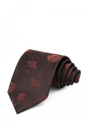 Галстук Carpenter. Цвет: коричневый