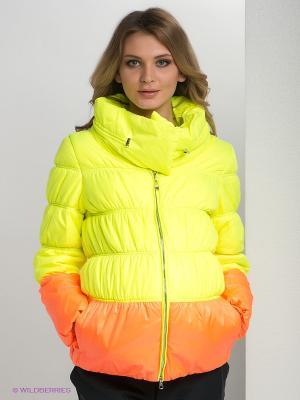 Куртка Gemko. Цвет: желтый, оранжевый
