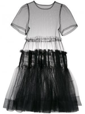 Платье Tang Molly Goddard. Цвет: чёрный