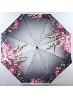 Зонт Magic Rain. Цвет: серый, зеленый, фуксия