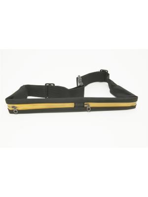 Пояс-кошелек SilaPro. Цвет: желтый