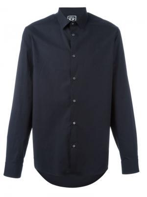 Классическая рубашка Kenzo. Цвет: синий