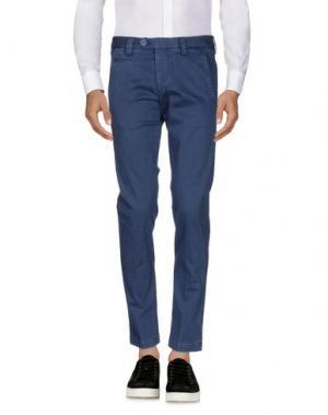 Повседневные брюки EXIBIT. Цвет: синий