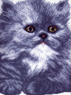 Рисунок на канве Мэри Матренин Посад. Цвет: серый
