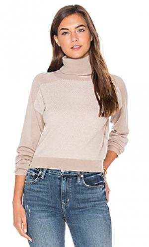 Укороченный свитер trish LA Made. Цвет: серый