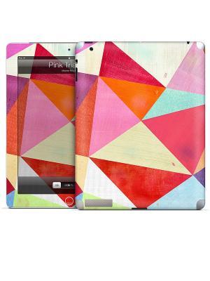 Виниловая наклейка для iPad 2,3,4 Gelaskins. Цвет: красный, фуксия
