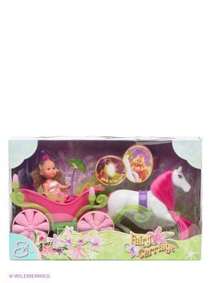 Игровой набор кукла Ева Simba. Цвет: розовый, белый, зеленый