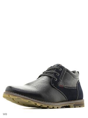 Ботинки CARIDO. Цвет: синий