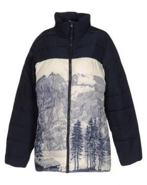 Куртка NICE THINGS by PALOMA S.. Цвет: темно-синий