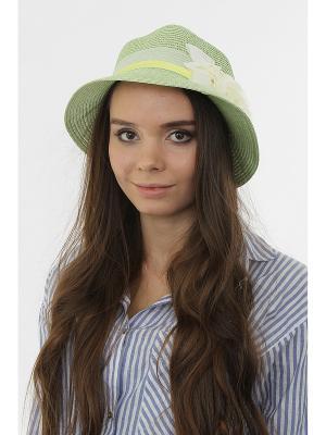 Шляпа Happy Charms Family. Цвет: зеленый, белый, голубой, желтый