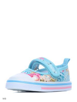 Ботинки PlayToday. Цвет: голубой
