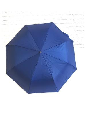 Зонт NeKi. Цвет: темно-синий,серебристый
