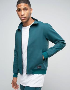 Adidas Originals Зеленая спортивная куртка Berlin Pack EQT BK2130. Цвет: зеленый