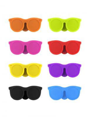 Маркеры для бокалов Sunny 8шт. Balvi. Цвет: голубой, желтый, зеленый, красный, оранжевый, розовый, фиолетовый, черный