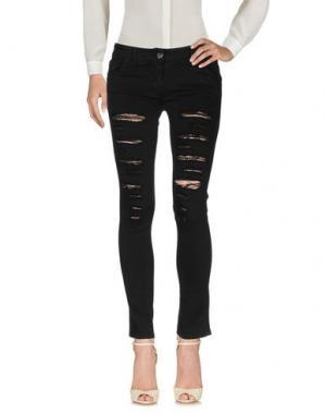 Повседневные брюки ROBERTA BIAGI. Цвет: черный
