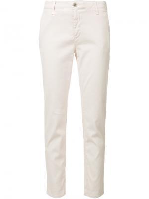 Джинсы Caden Ag Jeans. Цвет: розовый и фиолетовый