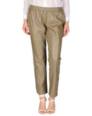 Повседневные брюки BDBA. Цвет: хаки