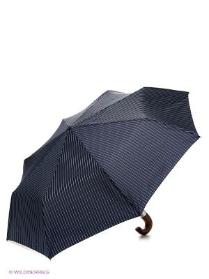 Зонт мужской автомат Fulton. Цвет: темно-синий