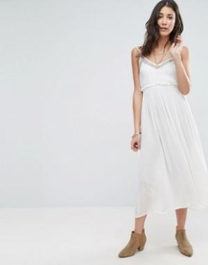 Raga Платье макси Summer Romance. Цвет: белый