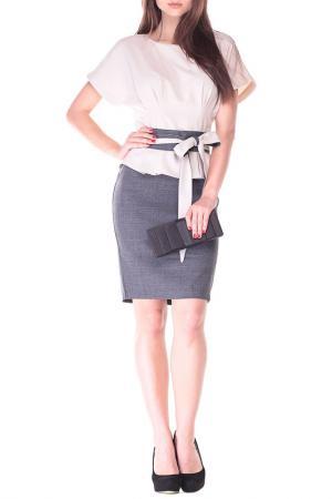 Платье REBECCA TATTI. Цвет: графитовый