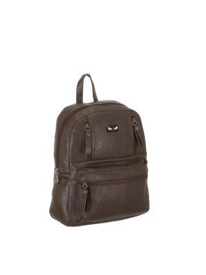 Рюкзак 5655 искусственная кожа Sofiya. Цвет: коричневый