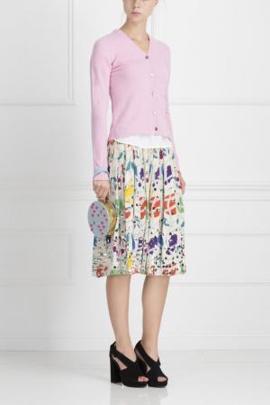 Шелковая юбка Libertine. Цвет: multicolor