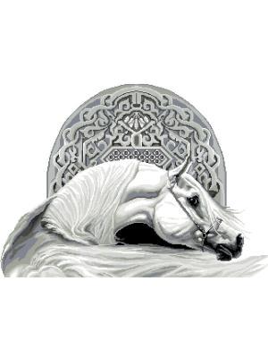 Набор 48х69 (рис/канв., мулине) NITEX. Цвет: серый, белый, черный