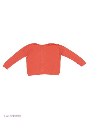 Кардиган United Colors of Benetton. Цвет: оранжевый, бронзовый