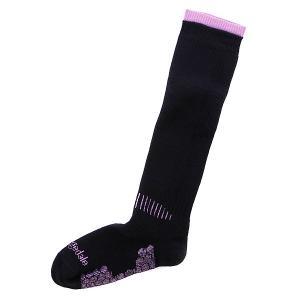 Носки сноубордические женские  Ski Black Bridgedale. Цвет: черный