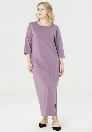 Платье Lessismore. Цвет: фиолетовый