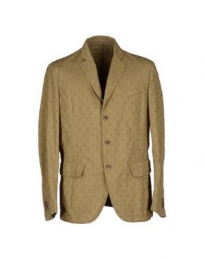 Пиджак MONTEDORO. Цвет: зеленый-милитари