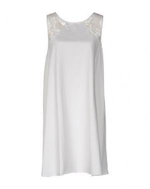 Короткое платье WETPAINT. Цвет: слоновая кость