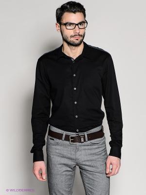 Рубашка 18CRR81 CERRUTI. Цвет: темно-серый, черный