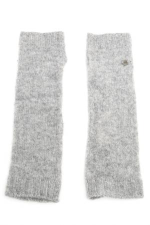 Перчатки Marc OPolo O'Polo. Цвет: серый