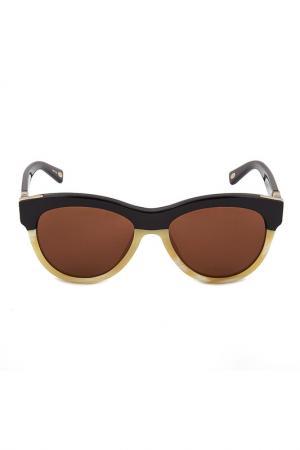 Очки солнцезащитные Loewe. Цвет: none