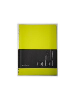 Ежедневник Orbit, А6 Bruno Visconti. Цвет: желтый