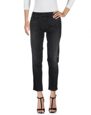Джинсовые брюки MOTHER. Цвет: черный